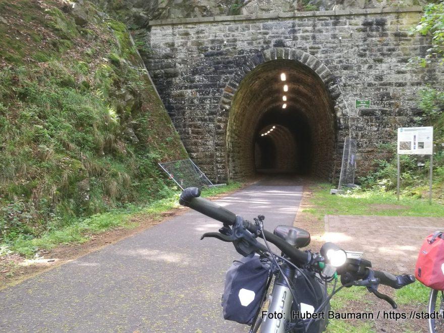 Bahntrassenradweg / Mommelsteinradweg Schmalkalden / Thüringen